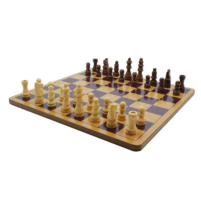 Classic Games Wood Chess Set Classic Games Wood Chess Set