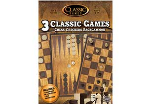 Classic Games 3 in 1 Multi Pack