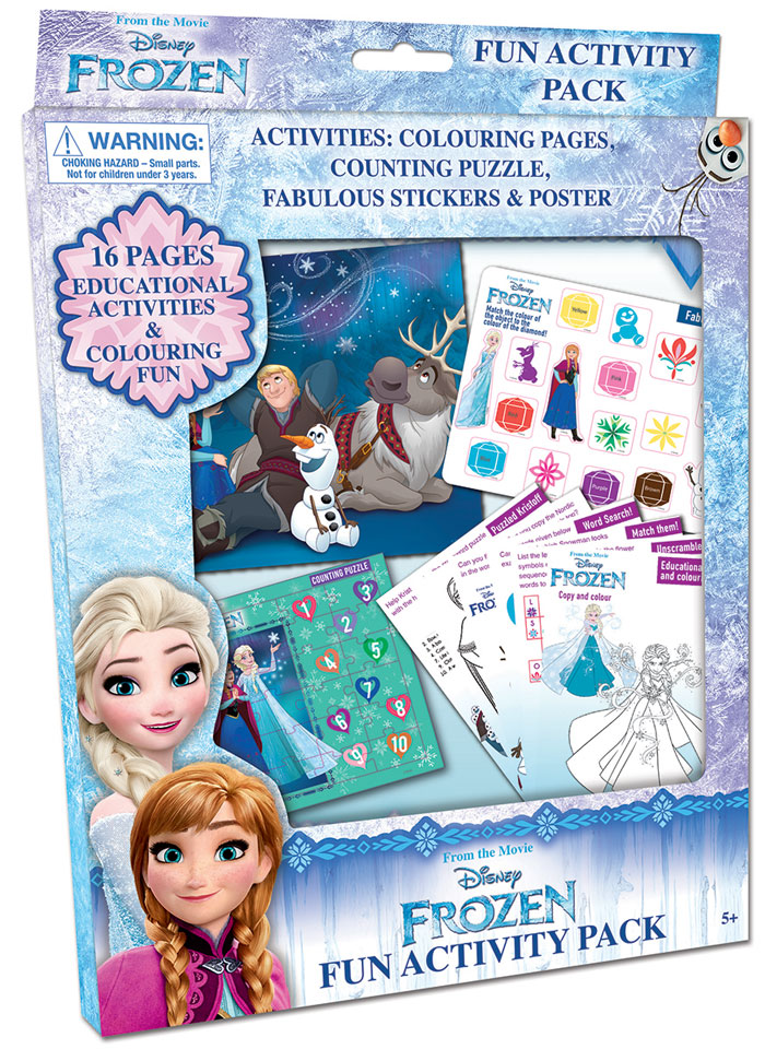 Frozen Activity Packs | Games | Prima Toys
