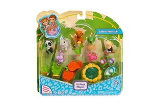 Jungle In My Pocket 15 Piece Playset