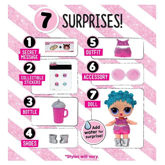 L.O.L Surprise Glitter Series Tots Do