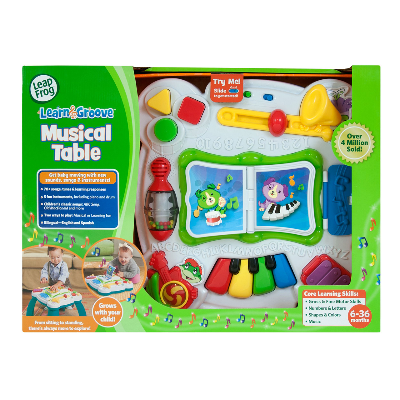 LeapFrog Learn & Groove Musical Table | LeapFrog | Prima Toys