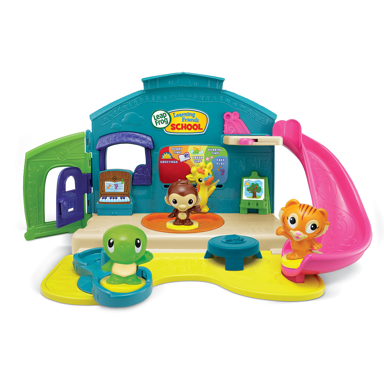 Toys For School : Leapfrog lets go to school playset prima toys