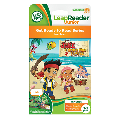 LeapReader Junior - Jake And The Neverland Pirates