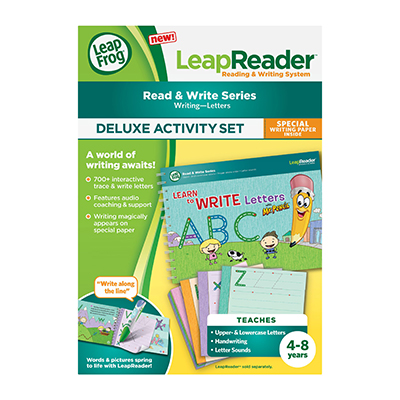 LeapReader - Learn To Write - Mr Pencil