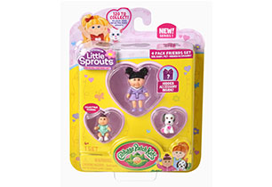 Little Sprouts 4 Pack Friends Set
