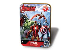 Avengers Puzzle In Tin