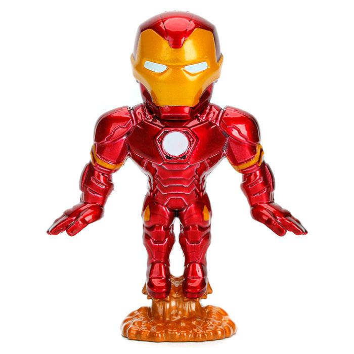 Marvel Assorted 6cm Metal Figures In Cdu Metals Prima Toys