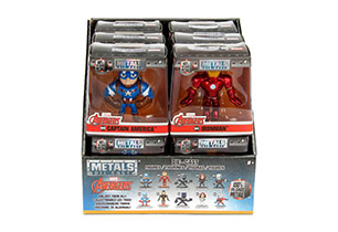 Marvel Assorted 6cm Metal Figures In CDU