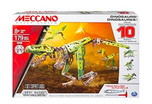 Meccano Dinosaurs 10 Multi Model Set