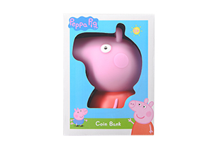 Peppa Pig Coin Bank- Peppa