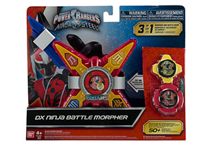 Power Rangers Ninja Steel Deluxe Star Morpher