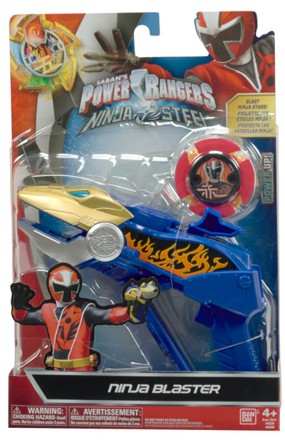 Power Rangers Ninja Steel Ranger Battle Gear