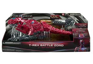 Power Ranger T-Rex Battle Zord With Ranger