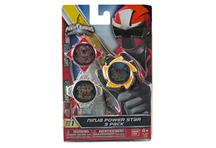 Power Rangers Ninja Steel Star Pack