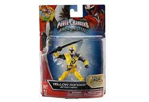 Power Rangers Ninja Steel 12cm Basic Figure