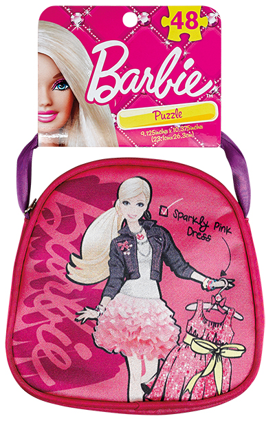 Barbie Puzzle In Purse