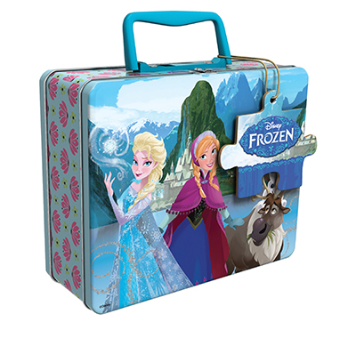 Frozen Puzzle In Lunch Tin