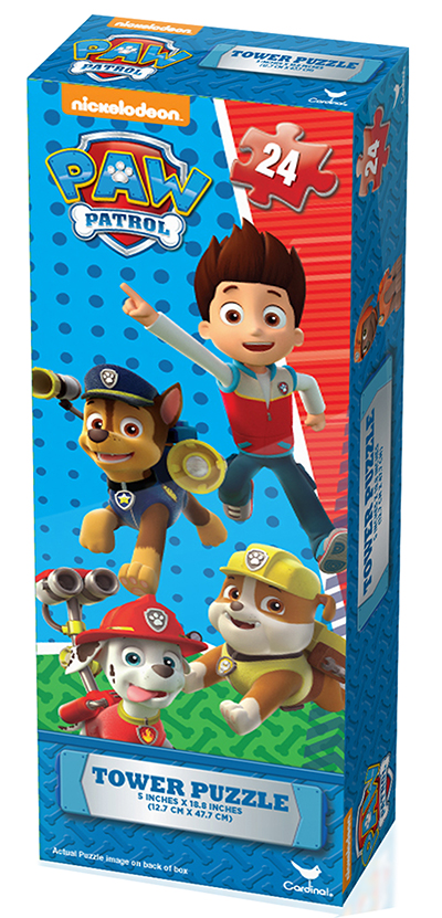 New Toys For Boys Ages 5 7 : Paw patrol mini tower puzzle prima toys
