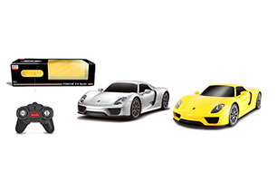 Rastar R/C 1:24 Porsche 918 Spyder With Battery