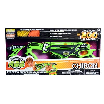 Rubber Band System Chiron Launcher