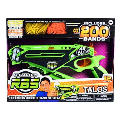 Rubber Band System Talos Launcher