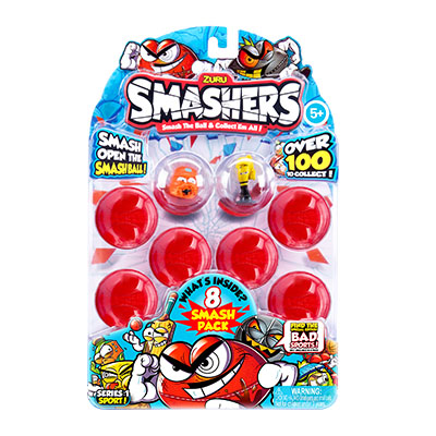 Smashers Collectables 8 Pack