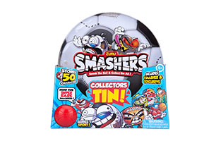Smashers Collectables Football Tin