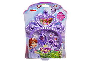 Sofia The First Tiara & Amulet Jewelry Set