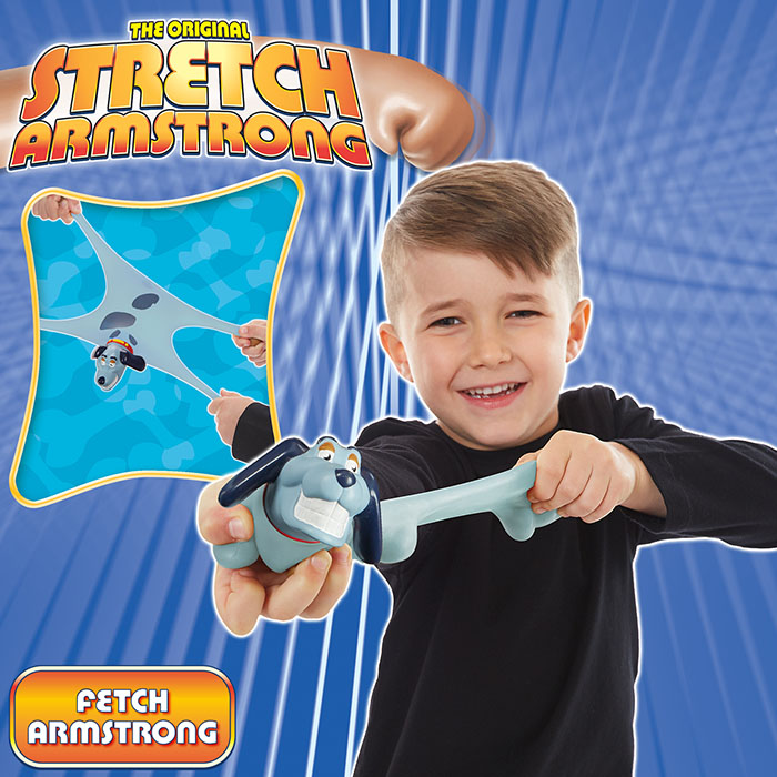 New Toys For Boys Ages 5 7 : Mini stretch fetch dog armstrong prima toys