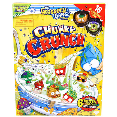 The Grossery Gang Chunky Crunch Super Pack