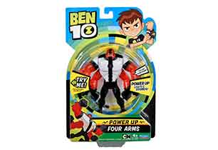 Ben 10 Power Up Deluxe Figures Assorted