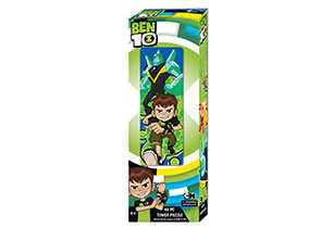 Ben 10 Mini Tower Puzzle