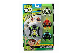 Ben 10 Omni Launch With 3 Battle Figures