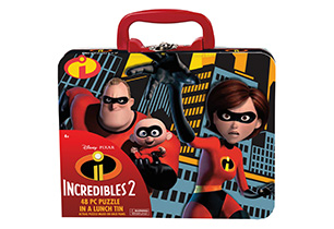 Incredibles 2 48pc Puzzle In A Lunch Tin