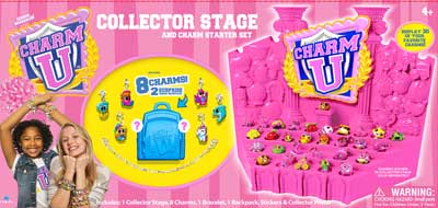 Charm U Collector Stage - Bracelet & 8 Charms