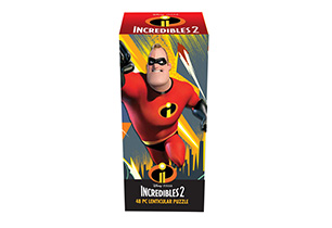 Incredibles 2 48pc Lenticular Puzzle