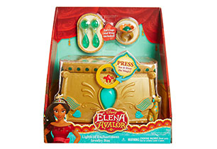 Elena Of Avalor Light Of Enchantment Jewelry Box