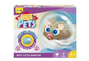 Pitter Patter Busy Little Hamster