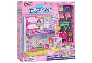 Happy Places Shopkins Party Studio