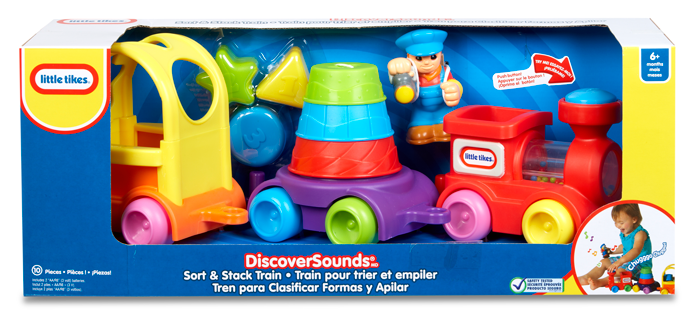 Little Tikes Discover Sounds Sort Amp Stack Train Little