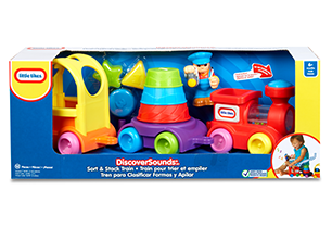 Little Tikes Discover Sounds Sort & Stack Train