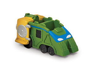 TMNT Micro World Vehicle & Figure