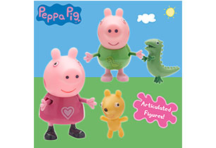 Peppa Pig Collectables Figures