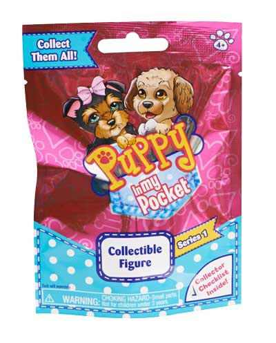 Puppy In My Pocket Collectible Figure