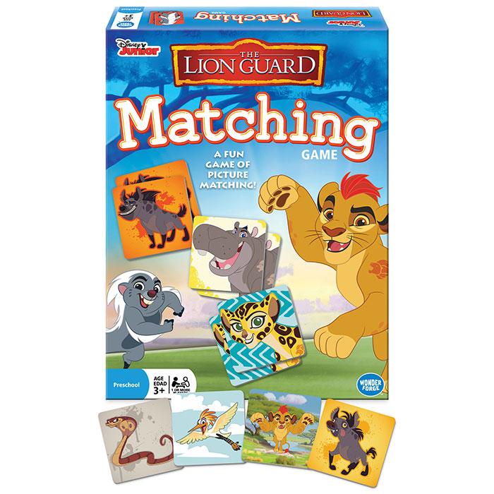 Disney Junior Lion Guard Matching Game Disney Junior