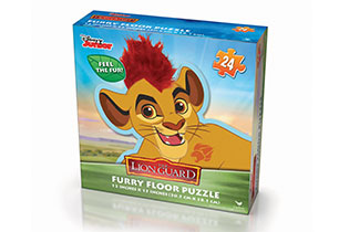 Disney Junior Lion Guard Furry Floor Puzzle