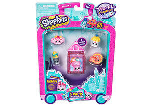 Shopkins 5 Pack S8 - Europe