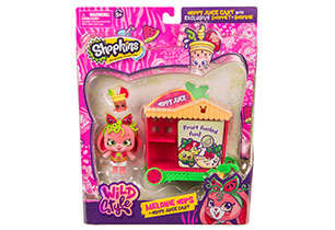 Shopkins Shoppets Wild Style Theme Pack Assorted