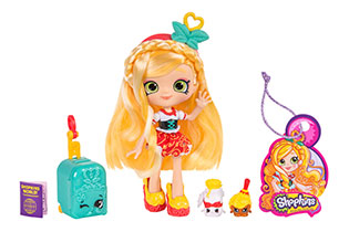 Shopkins Shoppies Themed Doll World Vacation Europe
